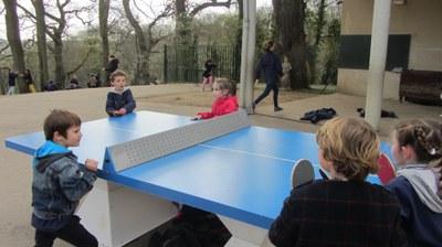 Ping pong : récréation sportive